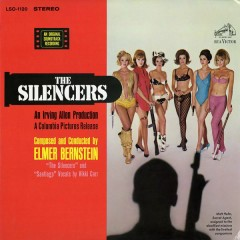 The Silencers (Soundtrack) - Elmer Bernstein
