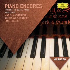 Piano Encores - Martha Argerich, Alexis Weissenberg, Emil Gilels