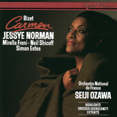 Bizet: Carmen (Highlights) - Jessye Norman, Mirella Freni, Neil Shicoff, R.T.F. Choeur De Radio France, R.T.F. National Orchestre