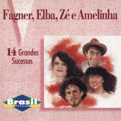 Brasil Popular: 14 Grandes Sucessos - Fagner, Elba Ramalho, Zé Ramalho, Amelinha