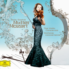 Mozart: The Violin Concertos; Sinfonia Concertante - Anne-Sophie Mutter