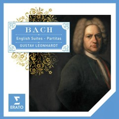 Bach English Suites - Partitas. - Gustav Leonhardt