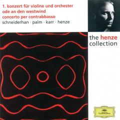 Henze: Violin Concerto No.1; Ode to West Wind; Double Bass Concerto - Wolfgang Schneiderhan, Siegfried Palm, Gary Karr, Hans Werner Henze