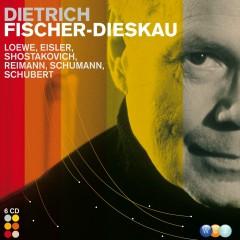Loewe, Eisler, Shostakovich, Reimann, Schumann, Schubert & French composers : Lieder etc - Dietrich Fischer-Dieskau
