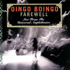 Farewell: Live From The Universal Amphitheatre-Halloween 1995 - Oingo Boingo