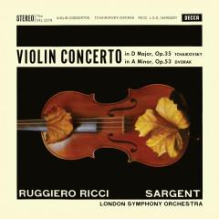 Tchaikovsky: Violin Concerto; Dvořák: Violin Concerto (Ruggiero Ricci: Complete Decca Recordings, Vol. 7) - Ruggiero Ricci, London Symphony Orchestra, Sir Malcolm Sargent