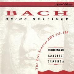 Bach, J.S.: 6 Trio Sonatas BWV 525-530 - Heinz Holliger, Tabea Zimmermann, Christiane Jaccottet, Thomas Demenga