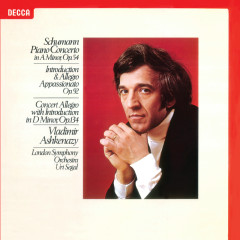 Schumann: Piano Concerto; Concert Allegro; Introduction & Allegro - Vladimir Ashkenazy, London Symphony Orchestra, Uri Segal