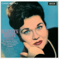 Marilyn Horne : Classic Recital - Marilyn Horne, Orchestra of the Royal Opera House, Covent Garden, Henry Lewis