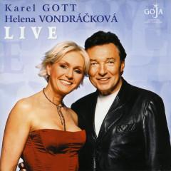 Live - Karel Gott, Helena Vondrackova