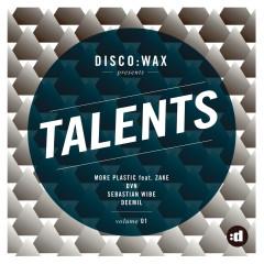 disco:wax Presents: Talents Volume 01 - Various Artists