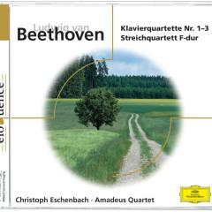 Beethoven: Klavierquartette 1-3; Streichquartett F-Dur - Christoph Eschenbach, Amadeus Quartet
