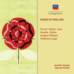 Songs Of England - Jennifer Vyvyan, Norma Procter