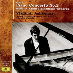 Chopin: Piano Concerto No.2 / Ballade / Etudes / Mazurkas / Scherzo - Vladimir Ashkenazy, Zdzislaw Gorzynski, Warsaw National Philharmonic Orchestra