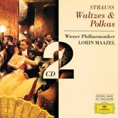 Strauss, Johann & Josef:: Waltzes & Polkas - Wiener Philharmoniker, Lorin Maazel