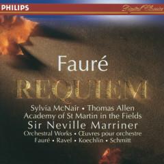 Fauré: Requiem / Koechlin: Choral sur le nom de Fauré - Sylvia McNair, Sir Thomas Allen, Academy of St. Martin  in  the Fields Chorus, Academy of St. Martin in the Fields, John Birch