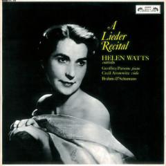 Helen Watts Recital - Helen Watts, Geoffrey Parsons, Cecil Aronowitz