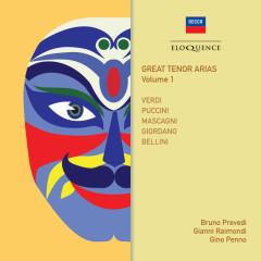Great Tenor Arias (Vol. 1) - Bruno Prevedi, Gianni Raimondi, Gino Penno, Orchestra of the Royal Opera House, Covent Garden, Sir Edward Downes