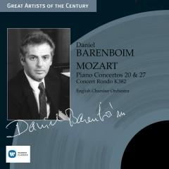 Great Artists of the Century - Daniel Barenboim - Mozart: Piano Concertos Nos. 20 & 27, Concert Rond - Daniel Barenboim