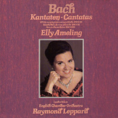 Bach, J.S.: Cantatas Nos. 52, 84 & 209 - Elly Ameling, English Chamber Orchestra, Raymond Leppard