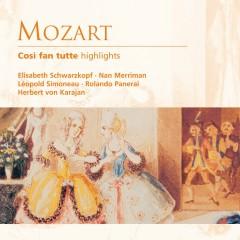 Mozart: Così fan tutte (Highlights) - Herbert von Karajan