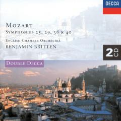 Mozart: Symphonies Nos. 25, 29, 38 & 40 etc. - English Chamber Orchestra, Benjamin Britten