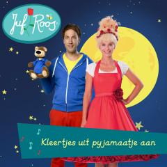 Kleertjes uit pyjamaatje aan - Juf Roos