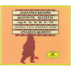Johannes Brahms: Quintets · Sextets - Christoph Eschenbach, Amadeus Quartet