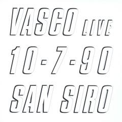 Vasco Live 10.7.90 San Siro - Vasco Rossi