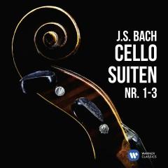 J.S. Bach: Cellosuiten Nr. 1-3 - Heinrich Schiff