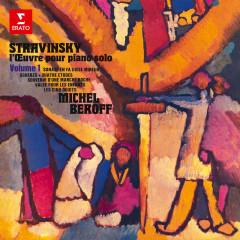 Stravinsky: L'œuvre pour piano, vol. 1. Scherzo, 4 Études, Valse pour les enfants & Les cinq doigts - Michel Beroff
