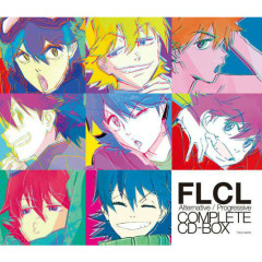 FLCL Alternative / Progressive COMPLETE CD-BOX CD3