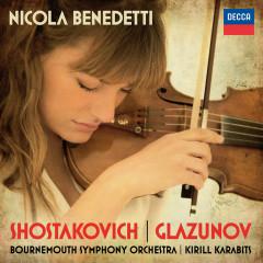 Shostakovich: Violin Concerto No.1; Glazunov: Violin Concerto - Nicola Benedetti, Bournemouth Symphony Orchestra, Kirill Karabits