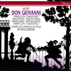 Mozart: Don Giovanni - Sir Neville Marriner, Sir Thomas Allen, Sharon Sweet, Francisco Araiza, Karita Mattila