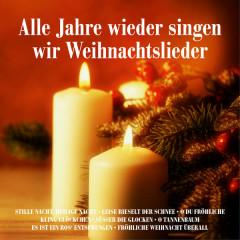 Alle Jahre wieder singen wir Weihnachtslieder: Stille Nacht, heilige Nacht, Leise rieselt der Schnee, O du Fröhliche, Kling Glöckchen, Süßer die Glocken, O Tannenbaum, Es ist ein Ros' entsprungen, Fröhliche Weihnacht überall