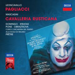 Leoncavallo: Pagliacci / Mascagni: Cavalleria Rusticana - Plácido Domingo,Teresa Stratas,Elena Obraztsova,Juan Pons,Orchestra del Teatro alla Scala di Milano