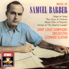 Adagio for Strings / 3 Essays for Orchestra - Leonard Slatkin, Saint Louis Symphony Orchestra