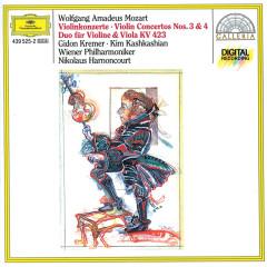 Mozart: Violin Concertos Nos. 3 & 4; Duo for Violin and Viola KV 423