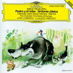 Prokofiev: Pedro y el Lobo; Obertura sobre temas; Sinfonia Classica - Chamber Orchestra Of Europe, Claudio Abbado, Jose Carreras, Stefan Vladar