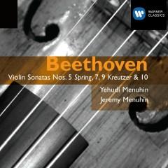 Beethoven: Violin Sonatas Nos. 5,7,9 & 10 - Yehudi Menuhin