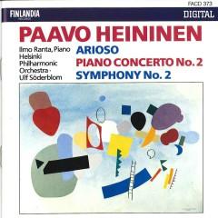 Paavo Heininen : Arioso, Piano Concerto No.2, Symphony No.2 - Helsinki Philharmonic Orchestra