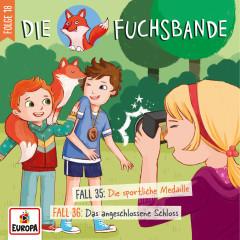 018/Fall 35: Die sportliche Medaille/Fall 36: Das angeschlossene Schloss - Die Fuchsbande