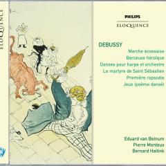 Le Martyre de S. Sebastien; Danse Sacreé Et Danse Profane; Berceuse Heroique; - Pierre Monteux, Eduard Van Beinum, Bernard Haitink