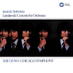 Lutosławski: Concerto for Orchestra - Janáček: Sinfonietta - Seiji Ozawa