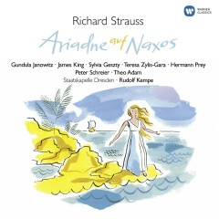 R. Strauss: Ariadne auf Naxos - Gundula Janowitz, Hermann Prey, James King, Peter Schreier, Sylvia Geszty