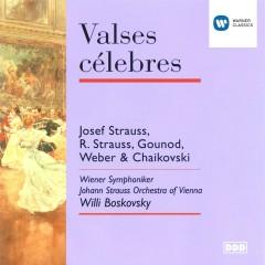 Valses célebres - Wiener Johann Strauss Orchester, Wiener Symphoniker, Willi Boskovsky
