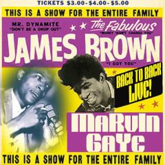 Back To Back Live! - James Brown, Marvin Gaye