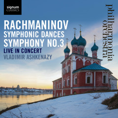 Rachmaninov: Symphonic Dances, Symphony No. 3 - Philharmonia Orchestra, Vladimir Ashkenazy