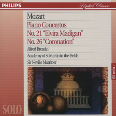 Mozart: Piano Concertos No.21 & 26 - Alfred Brendel, Academy of St. Martin in the Fields, Sir Neville Marriner