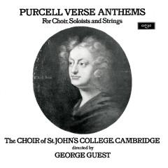 Purcell: Verse Anthems - Choir Of St. John's College, Cambridge, Paul Esswood, Ian Partridge, Stafford Dean, John Scott